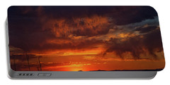 Taos Virga Sunset Portable Battery Charger