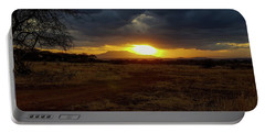 Tarangire Sunset Portable Battery Charger