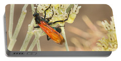 Tarantula Hawk Portable Battery Charger by Sean Griffin