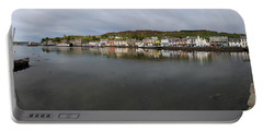 Tarbert Harbour - Panorama Portable Battery Charger