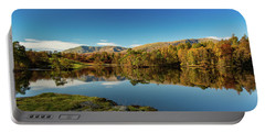 Tarn Hows Portable Battery Charger by Mike Taylor