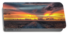 Tasman Sea Sunset Portable Battery Charger