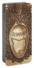 Portable Battery Charger featuring the photograph Tasmania Coffee Beans by Jorgo Photography - Wall Art Gallery