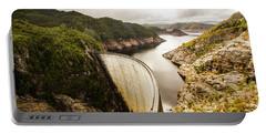 Tasmania Hydropower Dam Portable Battery Charger