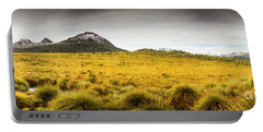 Tasmania Mountains Of The East-west Great Divide  Portable Battery Charger
