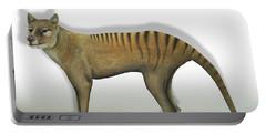 Tasmanian Tiger-thylacinus Cynocephalus-tasmanian Wolf-lobo De Tasmania-tasmanian Loup-beutelwolf    Portable Battery Charger