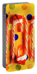 Tasty Candy Cane Sweets Portable Battery Charger