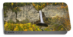 Taughannock Falls Autumn Portable Battery Charger