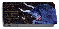 Taurus Birthday Zodiac Astrology Portable Battery Charger