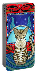 Taurus Cat Zodiac Portable Battery Charger