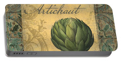 Tavolo, Italian Table, Artichoke Portable Battery Charger by Mindy Sommers