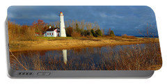 Sturgeon Point Lighthouse Portable Battery Charger