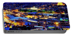 Portable Battery Charger featuring the photograph Tbilisi by Fabrizio Troiani