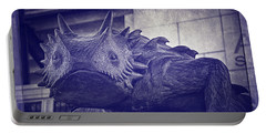 Tcu Horned Frog Purple Portable Battery Charger