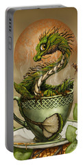 Tea Dragon Portable Battery Charger by Stanley Morrison
