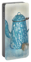 Portable Battery Charger featuring the photograph Tea Time by David and Carol Kelly
