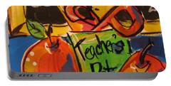 Teacher's Pet Portable Battery Charger by Terri Einer