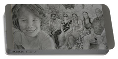 Teagan And Her Family Portable Battery Charger