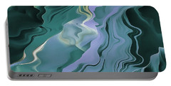 Teal Turbulence Portable Battery Charger