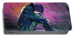 Tears In The Rain Portable Battery Charger