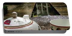 #teatime #rain #london #hkellex13 Portable Battery Charger