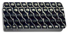Tech Texture Portable Battery Charger by Joseph Skompski