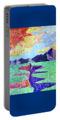 Portable Battery Charger featuring the photograph Techni-color Rio Grande  by Brenda Pressnall