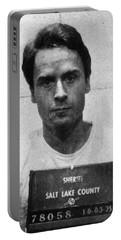 Ted Bundy Mug Shot 1975 Vertical  Portable Battery Charger