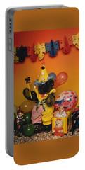 Teddy Bear Celebrates, Birthday Teddy Bear Portable Battery Charger
