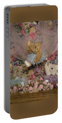 Teddy Bear Dancers Portable Battery Charger