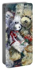Teddy Bear Honeymooon Portable Battery Charger