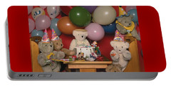 Teddy Bear Party Portable Battery Charger