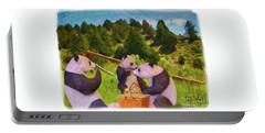 Teddy Bear Picnic Portable Battery Charger