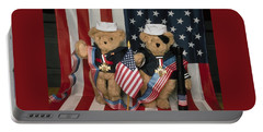 Teddy Bears In America Portable Battery Charger