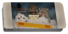Teddy Bears In Heaven Portable Battery Charger