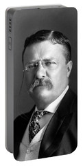 Teddy Roosevelt Portrait - 1904 Portable Battery Charger