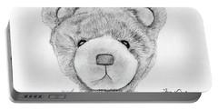 Teddybear Portrait Portable Battery Charger