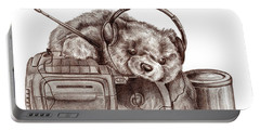 Teenage Bear Portable Battery Charger