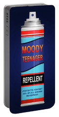 Teenage Moodiness Repellent. Portable Battery Charger