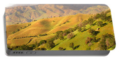 Tehachapi Topography Portable Battery Charger