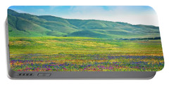 Tejon Ranch Wildflowers Portable Battery Charger