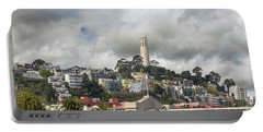 Telegraph Hill Neighborhood Homes In San Francisco Portable Battery Charger