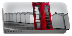 Telephone Box By The Sea I Portable Battery Charger