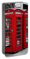 Telephone Boxes In London Portable Battery Charger