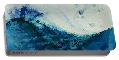 Tempest. Big Painting Modern Decor Collection Portable Battery Charger by Mark Lawrence