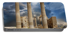 Temple Of Athena Portable Battery Charger