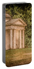 Kew Gardens, England - Temple Of Bellona Portable Battery Charger