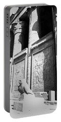 Portable Battery Charger featuring the photograph Temple Of Horus by Silvia Bruno