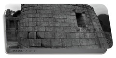 Temple Of The Sun, Machu Picchu, Peru Portable Battery Charger by Aidan Moran