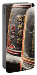 Temple Of Thien Hau Bells Portable Battery Charger by For Ninety One Days